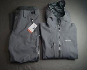 MARMOT Men's Refuge Windbreaker Ski Jacket & Pant NWT