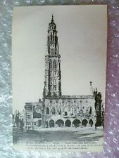 Postcard ARRAS- AFTER the Bombardment in World War 1914-1916 The Town Hall,No.6