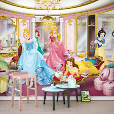"Wall Mural photo Wallpaper PRINCESS BALLROOM Wall art for girls DISNEY ""PINK"""