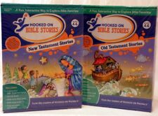 Hooked on Phonics BIBLE Stories OLD & NEW Testament Audio CDs Books AGES 4-6