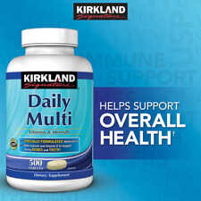 Kirkland Signature Daily Multi, 500 Tablets, Specially Formulated Multivitamin