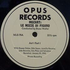OPUS MLG 75 / 76 / 77 *MEGA RARE* 3LP Set BRUNO WALTER Mozart Marriage of Figaro