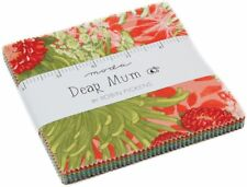 "Dear Mum Moda Charm Pack 42 100% Cotton 5"" Precut Fabric Quilt Squares"