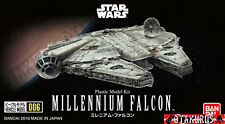 Millennium Falcon Star Wars Vehicle Model 99MM Kit Plastic Figure Bandai Japan