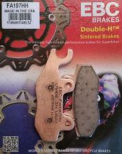 EBC/FA197HH Sintered Brake Pads (Rear) - Kawasaki Z250/300, EX300 Ninja, KLR650