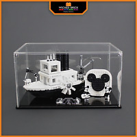 Display stand and case for LEGO Ideas: Steam Boat Willie (21317)