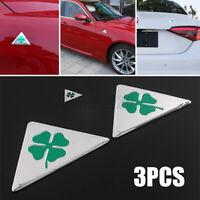Four-leaf Clover Car Side Splash Guard Emblem Badge Sticker Bumper For  /