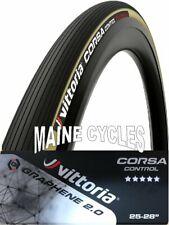 Vittoria Corsa Control 700x25 Folding Tyre G2.0 Black//TanWall