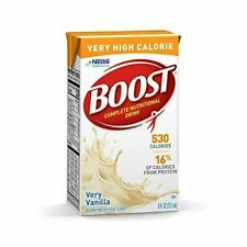 Boost Very High Calorie Complete Nutritional Drink - Very Vanilla, 8 fl. oz. Box