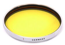 Leica UQMOO Yellow 1 Filter for Leitz HEKTOR 12.5cm / Summarex 8.5cm / NOCTILUX