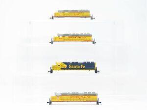 LOT of 4 N Scale KATO - UP ATSF Union Pacific / Santa Fe Railroad Diesel Shells