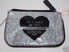 Victoria Secret FASHION SHOW BEAUTY RUSH shiny Cosmetic Makeup Bag COINT WALLET