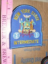 New York State NY Paramedic EMT Intermediate Medical Fire Rescue Ambulance Patch