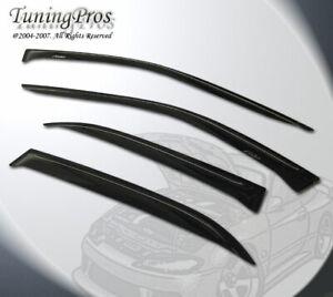 For Kia Forte 4 Door Sedan 17-18 4pcs Outside Mount JDM Vent Window Visor