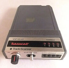 Vintage Uniden Bearcat 8 Track Scanner Model Bc-E