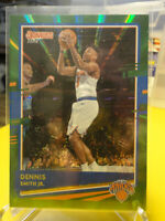 Dennis Smith Jr. 2020-21 Donruss Basketball #99 Green Laser New York Knicks