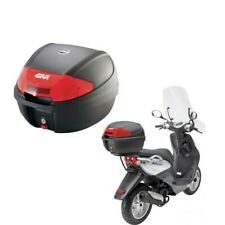 Top case Givi E300 noir avec plaque monolock 30L pour scooter