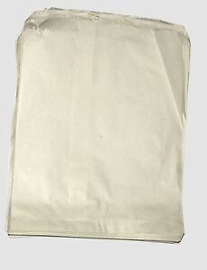 WHITE KRAFT SULPHITE STRUNG PAPER BAGS FOOD SANDWICH GROCERY BAGS