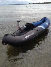 inflatable KAYAK SEVYLOR  1 Person RIO  canoe + motor