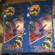 Vintage 1984 G1 Optimus Prime Transformers Kid Youth Sleeping Bag Hasbro Rare