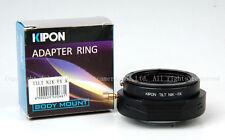 *Turn 360* Kipon Tilt Adapter for NIkon F lens to Fuji X-PRO1 X-E1 *latest*