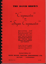 David Brown Cropmaster & Super Cropmaster Tractor Instruction Manual Book