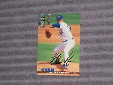 NOLAN RYAN- UPPER DECK COLLECTOR'S CHOICE GOLD Fax Card- #46- 1995