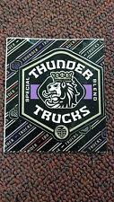 "Thunder Trucks, Skateboard Sticker, Collector Series, 31913B, 2-3/4"" X 3"""