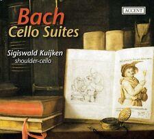 Bach-Cello Suites - Sigiswald Kuijken (2013, CD NIEUW)2 DISC SET