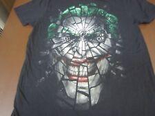 BATMAN JOKER BROKEN GLASS Graphic Licensed  Tee Shirt Large    B6