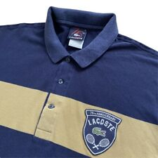 Vintage LACOSTE 75th Anniversary Special Polo Shirt | Size 6 (XL) | Navy Blue