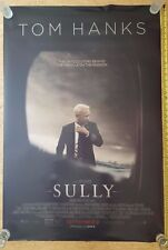 AUTHENTIC Tom Hanks as SULLY -  ORIGINAL Movie Poster DS 27x40 Theater Poster