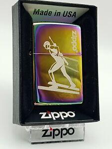 Original Zippo - Biathlon Spectrum - 2015 -  Neu