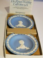 Wedgewood Jasperware Blue. The Royal Wedding Collection 1981.
