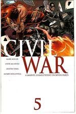 Civil War  #5 (2006) NM+  Mark Millar - Steve McNiven