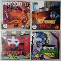 Street Vibes Volume 13-16 JUMBO Pack Dancehall, Bashment, Urban Reggae 4CD 2019