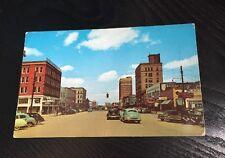 Tuscaloosa Alabama~Greensboro Avenue Sokol's Furniture Cafe Goodyear 1950s Cars