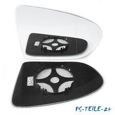 Spiegelglas für NISSAN QASHQAI 2007-2013 rechts asphärisch beheizbar elektrisch