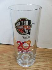 """HALL of FAME 20th Anniversary 6"""" Glass ALLEN IVERSON YAO MING SHAQULLE O'NEAL"""
