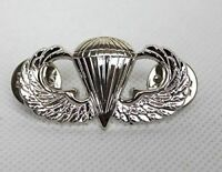 US ARMY AIRBORNE PARATROOPER PARACHUTIST JUMP WINGS BADGE INSIGNIA PIN