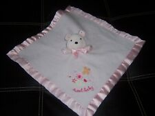 sweet baby teddy carters lovey security lovely blanket