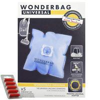 5 x Wonderbag Original Vacuum Cleaner Dust Bags 6L ROWENTA TEFAL MOULINEX + Fres
