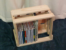 DVD Sammlung, Blu-rays,CD Regal Hol , CD/DVD Aufbewahrungsregal Holz, DVD Holz