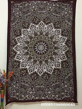 Indian Royal Tapestries Bedding Popular Decorative Bed Sheets Wall Hanging Twin