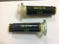 Coppia Manopole Monster Per Pit Bike Quad Diametro 22mm,Entra per altri ricambi
