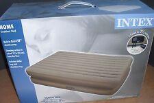 NEW Intex Rising Comfort Queen Raised Air Bed Airbed - Queen Mattress
