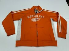 Arctic Cat Men's Orange Track Jacket - J. America - Large