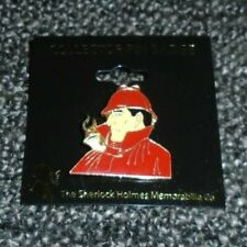 Sherlock Holmes Pin Badge Memorabilia Collector Company