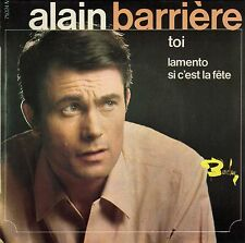 ALAIN BARRIERE TOI FRENCH ORIG EP JACQUES DENJEAN