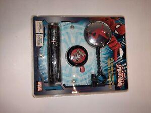 Lock & Lock Marvel Spider-Man Kids Bicycle Accessory Combo Lock, Mirror, Bell